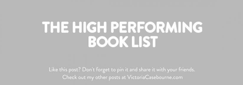 The High Performing Book List