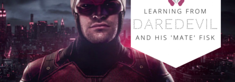 What we can learn from Daredevil and his 'mate' Fisk