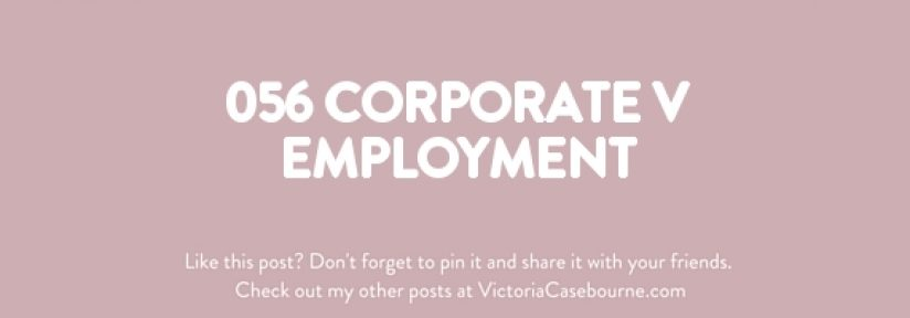 056 Corporate V Employment